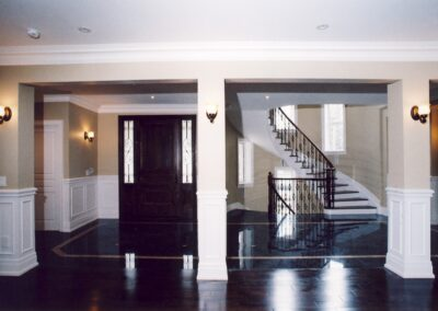 Staircase and Doorway