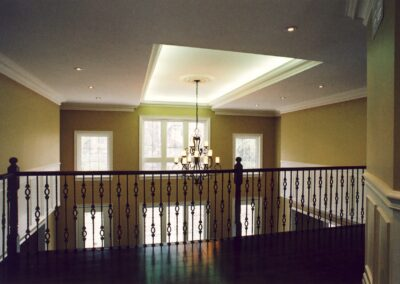 Ceiling and Railing